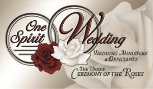 One Spirit Wedding, Indianapolis — WE ARE UNIQUE: the unique Ceremony of the Roses; allow you to make changes to your ceremony; will marry you anytime or day; will travel to the location of your choice; No premarital counseling required; Experienced (18 years+) Ceremony coordinators; call today for a price quote 317-687-4200