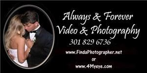 Hi Resolution Digital Wedding Photography & You Keep the Images on CD, Always & Forever Photography, Frederick