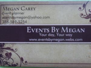 Events by Megan