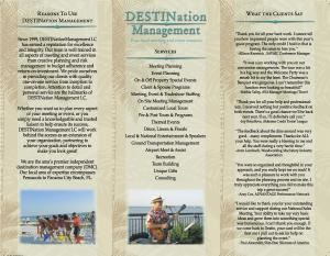 DESTINation Management LC