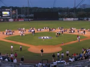 Main Field, George M. Steinbrenner Field, Tampa — On-Field events at Steinbrenner Field