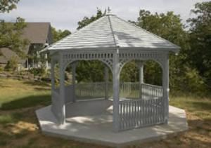 Wedding Gazebo, Camp Loughridge, Tulsa — Wedding Gazebo