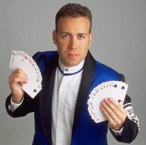 High Energy Magic of Speed - Magician & Illusionist - Richmond, Richmond — Speed Rocks with Cards.