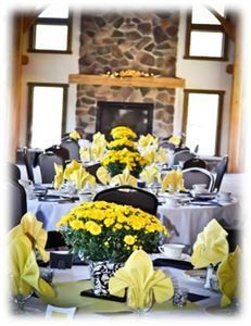 Wedding Package 1, Hidden Valley Animal Adventure, Varysburg — The Lodge