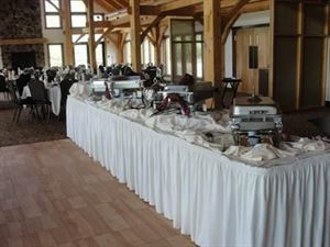 Dinner Buffet Packages, Hidden Valley Animal Adventure, Varysburg — Buffet