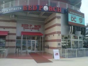 Red Porch Restaurant, Nationals Park, Washington
