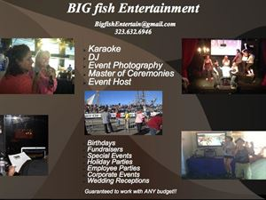 One Size Fits All, Big Fish Entertainment, Los Angeles — BIG fish