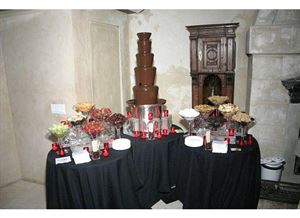 Luxe Catering Package, Celebrevents, New York — Chocolate Fountain