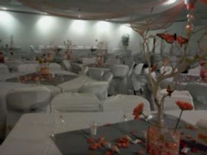 Banquet Room 1, Patino Hall, Bakersfield — We have room for you in our 2,200 square foot banquet room. We are an all-inclusive banquet hall and have various packages to fit your budget.