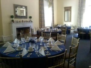 An Event to Cater, Southbridge — Full service event with china, linens, glassware and punch fountain as well as food preparation and service at the Wadsworth Mansion at Long Hill.  Many other types of events are served by us including tent weddings, graduation parties, anniversaries, birthdays, and other events.  Many levels of service are available including meals served on plasticware through full-service china.  Staff is provided for clearing with all quotations.