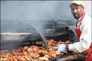 Wedding & Reception Event, Cujo's Big Smoke B-B-Q, Rancho Cucamonga — Grilling