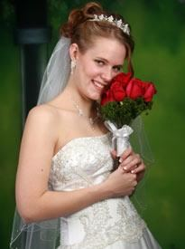 Keepsake Wedding Package , Art's Photography, Valley Center — In-studio Bridal Portrait
