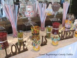 Sweet Beginnings Candy Buffets
