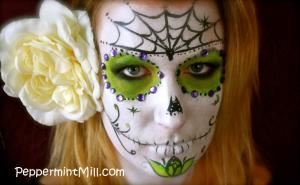 Peppermint Mill Face Painting