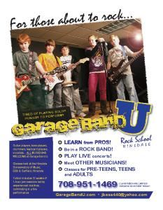 Garage Band U - Rock School