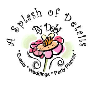 Partial Planning Service, A Splash of Details by Debi, Woodbridge