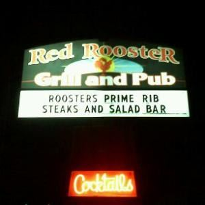 Red Rooster Grill &amp; Pub, Klamath Falls  The Red Rooster Grill and Pub is a full service restaurant and lounge located across from the Klamath County Fairgrounds.  We cater to all types of events from weddings to business meetings. We have facilties for events up to 45 and a full bar for your smaller events or will cater at your venue.  Our family friendly restaurant is open 7 days a week and we serve breakfast all day.