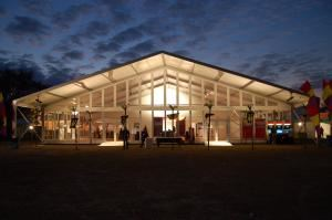 EVENTENTS - Mobile, Mobile — CLEAR SPAN STRUCTURE 25 METER (82'WIDE) WITH ALL THE OPTIONS!