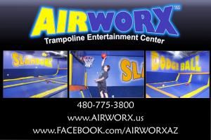 AIRWORX Trampoline Entertainment Center