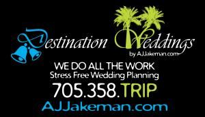 Destination Weddings by AJ Jakeman