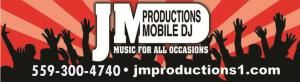 JM Productions Mobile DJ, Fresno — JM Productions 559-300-4740 is an exclusive mobile DJ company in California. JM Productions known for exceptional service. We handle and execute each event ourselves, thus making sure that you receive high quality service, personal attention and our passion for perfection! With a music library of more than 40 genres and a remarkable ability to understand the crowd, we create an upbeat, fun, and exciting atmosphere for friends, family and guests. We have outstanding planning and organizing skills. We consistently meet the expectations of our high-end private and corporate clients. 