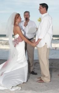 Full Wedding Ceremony With Rehearsal, Reverend John Bennett ~ New Path Ceremonies, Rockledge