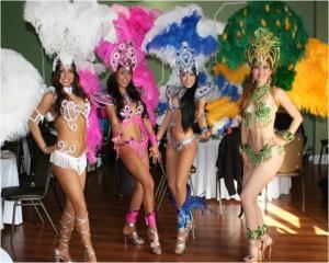 Samba And More, Redondo Beach — You'll be entertained by brilliantly costumed brazilian dancers, Batucada(drummers),Lambada Dancers,Capoeira. We also offer 'Belly Dancers, Hula Dancers, Fire dancers, and more...
