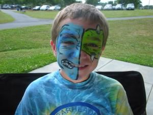 Fort Mill Faces, Face Painting