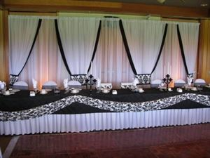 Reception Special, Creating Memories by Veronica, Stockton — Main Table Backdrop
