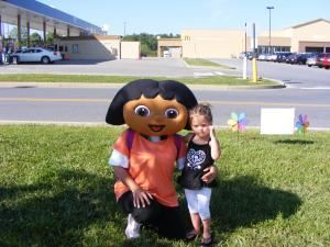 Happy Delivered Gift Courier & Party Service, Russellville — Explore the fun possibilities with this party mascot. Great for Kids Daycare activities, business advertising, and of course, special birthday visits.