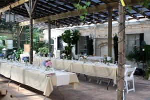 Wedding Reception Package, In the Garden, Jacksonville Beach
