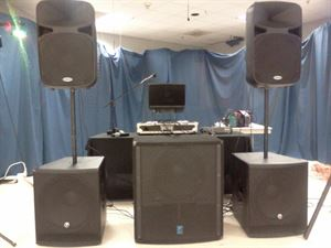 Four Hour DJ Package, DJ Lockdown Services, Jonesboro — Setup