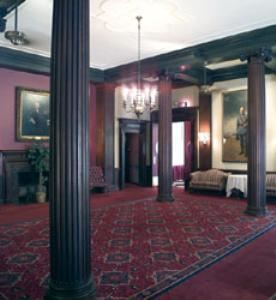 Main Clubhouse - Massachusetts Room Foyer, Harvard Club of Boston, Boston