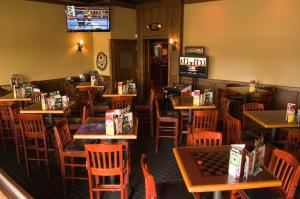 Black Room, Fox and Hound of Chesterfield, Chesterfield — This room is also very versatile. We have used it for more upscale wedding rehearsal dinners and of course more casual cocktail parties.