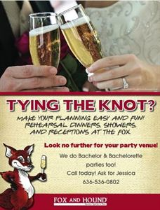 Wedding Rehearsal Dinner , Fox and Hound of Chesterfield, Chesterfield — Wedding Rehearsal Dinner