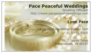 Pace Peaceful Weddings