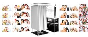 The Traveling FotoBox photo booth rental