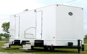 VIP To Go Restroom Shower Trailers