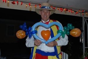 15 Minute Show - Surprise Visit from Ziggy, A+ Service - Ziggy's Entertainment - Clown/DJ/Magic/Balloon Art/Caricature/Face Paint/Stilt Walker, Athens