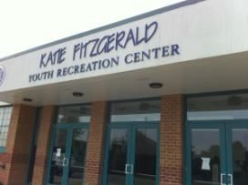 Katie Fitzgerald Center, Germantown — 9600 square foot(excluding stage area)activity center. Also includes a conference room and pantry. Perfect space for up to 400 people. Past rentals have included sport themed or regular birthday parties,large end of season celebrations, sport and non sport. Dances, great location for a post Prom event. Vendor shows are welcome.