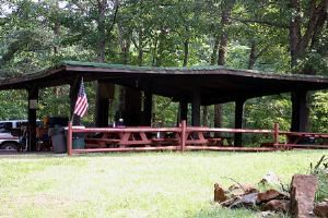 Large Picnic Shelter, Loch Haven Lake, Salem — Picnic Shelter Rentals