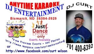 Anytime Karaoke DJ Entertainment