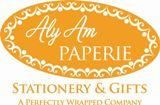 "Aly Am Paperie Stationery & Gifts, San Antonio — Put your love in print; have your wedding invitations tailored to fit your style.  Whether you want fun & whimsical or sophistication & elegance, our skilled associates can provide it all.  Make a great 1st impression that will make your guests eager to attend your special day.  Select your Design, Size, Font Color & Style, Provide your ""who, what, where, when's"" and we'll us do the rest!!! With our Inscribe line, order 1 to 500 and get reprints ready within 24 hours from approval.  Services include Custom, Semi-Custom & Album Invitations in Flat or Raised Ink or Letterpress; Printing on your stock or design, Envelope Addressing; Mailing; Personalized Gifts, Ribbon & Napkins, Cups, Favor Boxes, Coasters, Matches, Bookmarks; Full Size & Mini candy wrappers; Hershey Kiss, Water, Wine & Beer labels; Save the Date Postcards, Calendar Stickers & Magnets; Thank you Notes; Rehearsal Dinner Invitations; Programs, Menu & Place cards; Table Signs"