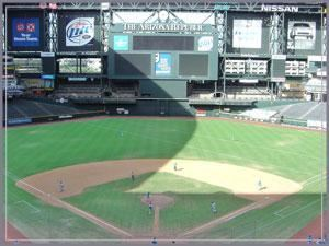 Chase Field - Home of the Arizona Diamondbacks, Phoenix