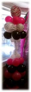 Seshalyn Parties, Worcester — Beautiful and affordable Balloon Columns, Arches and Decorations!