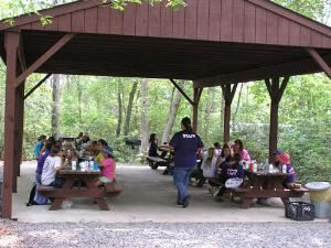 Dining Shelter 1-3, Girl Scouts Of The Jersey Shore, Toms River — Dining Shelter