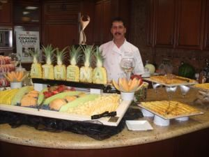 Food Art Entertainment, Palm Desert — Personalize your event with carved fruit and vegetable displays,