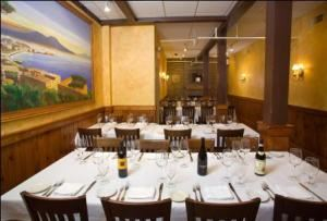 Back Fireplace Dining Room, Pane e Vino Ristorante, Providence — Back Dining Room