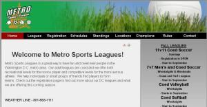 Us Soccer Leagues, West River — Our adult leagues are coed and we offer both recreational levels for the novice player and competitive levels for the more serious athlete. We help individuals or small groups of friends find players to form teams