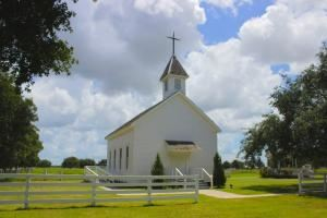 Chapel, George Ranch Historical Park, Richmond